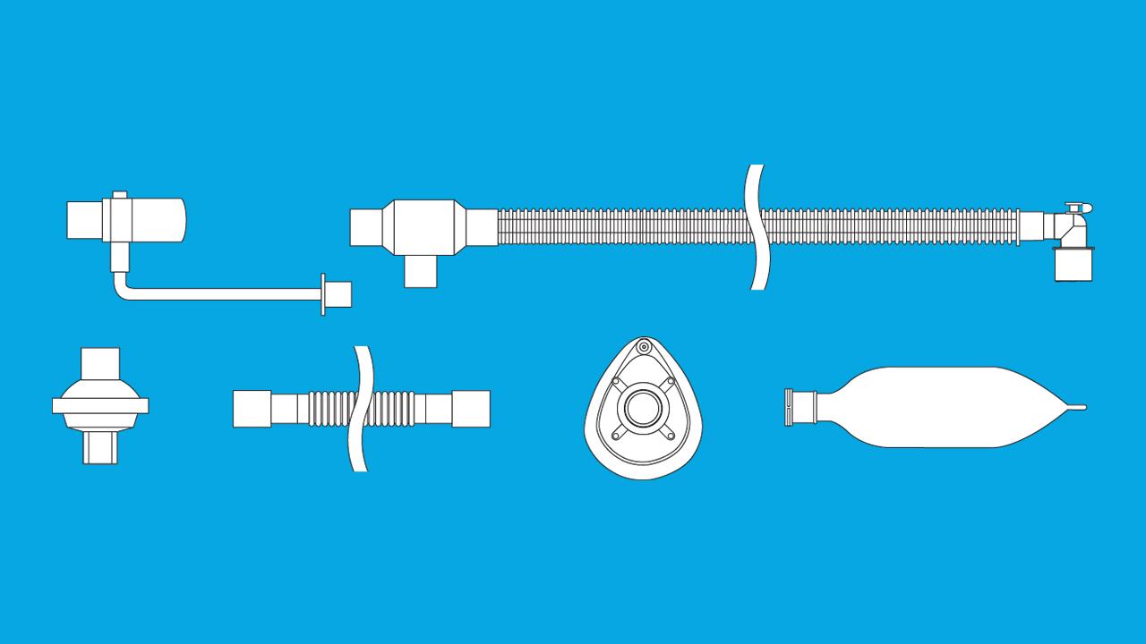 Circuito sonobreath pediatrico
